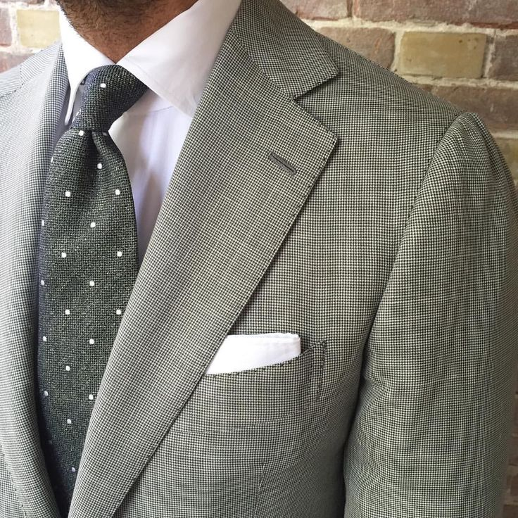 """@suitwhisper is wearing a Viola Milano """"Classic Polka Dot - Green"""" tie… Shop online with worldwide shipping at www.violamilano.com #violamilano #handmade #madeinitaly #style #elegance #details #polkadot"""