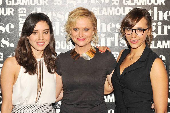 "Aubrey Plaza and Rashida Jones - Glamour Presents ""These Girls"" At Joe's Pub - Arrivals"