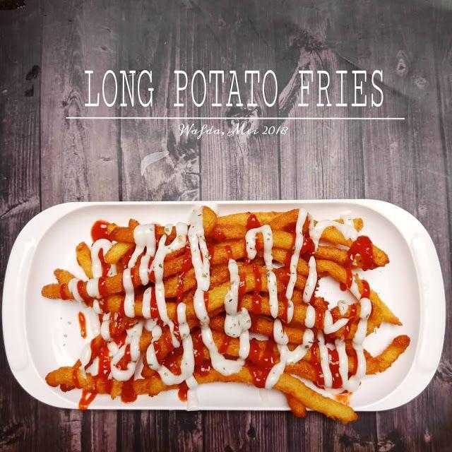 Resep Long Potato Fries Cemilan Ala Resto By Dapurwafda Resep Masakan Indonesia Cemilan Makanan