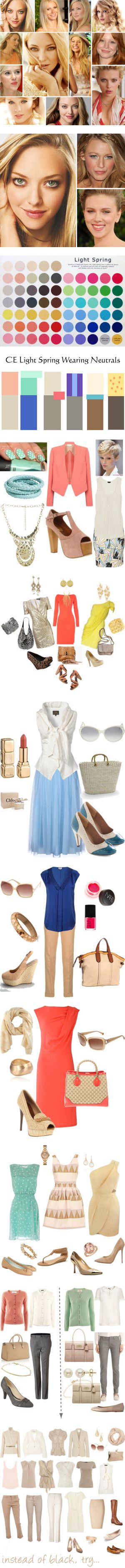 """Light Spring (LSp)"" by sduba on Polyvore"