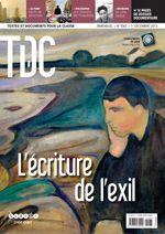 LANGUES EN LIGNE: l'écriture de l'exil.