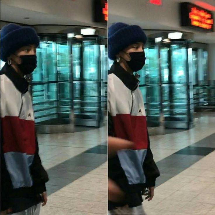 170729(30) Jjyong at LaGuardia Airport NYC off to Toronto © ciarakeira . . Have a safe flight King🙏💕
