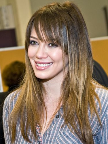 ponytail styles hair best 25 hilary duff bangs ideas on hilary 7987