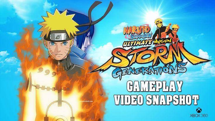 Naruto Shippuden:Ultimate Ninja Storm Generations XBOX 360 Gameplay Vide...