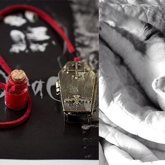 Dracula's bookmark was a custom order for Bram Stoker's Dracula book. It was my most funny bookmark made and I kinda like vampire stuff too 😸 . Before shipping the 🔖 I took the photo on top of a picture of Dracula's DVD, but you may ask why is a cat on the right side?! Well this is my little vampire, she likes to bite hard and leave blood on my hands, I did not tease her, she is like that almost all time. So this 🔖 could have been inspired on this four paws fangs furry animal or will be…