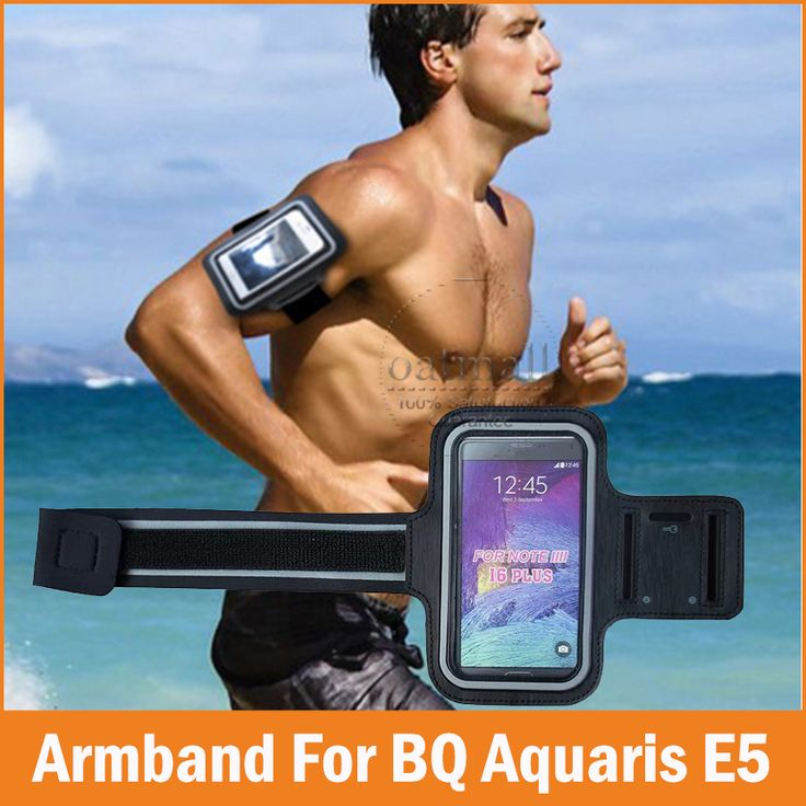 New 2015 Sports GYM Running Armband fundas BQ Aquaris E5 4G Case Waterproof Jogging Arm Band