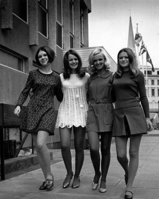 Sixties ... great hair, great fashion, great friends!