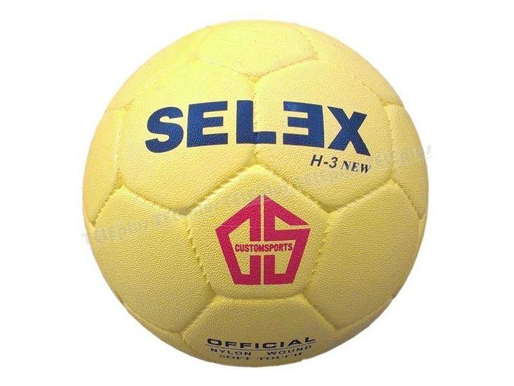 Selex H-3 Kauçuk Hentbol Topu No 3 - No 2(11 yaş üzeri erkeklere ve 13 yaş üzeri kızlara uygundur)  330-340 gr aralığında  Açık Mavi Renkte - Price : TL29.00. Buy now at http://www.teleplus.com.tr/index.php/selex-h-3-kaucuk-hentbol-topu-no-3.html