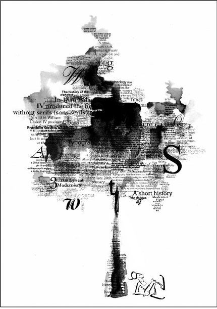 Black & White Typography–Wonders of Graphic Design « Graphic Design Blog – An Ultimate Resource for Graphic Designers