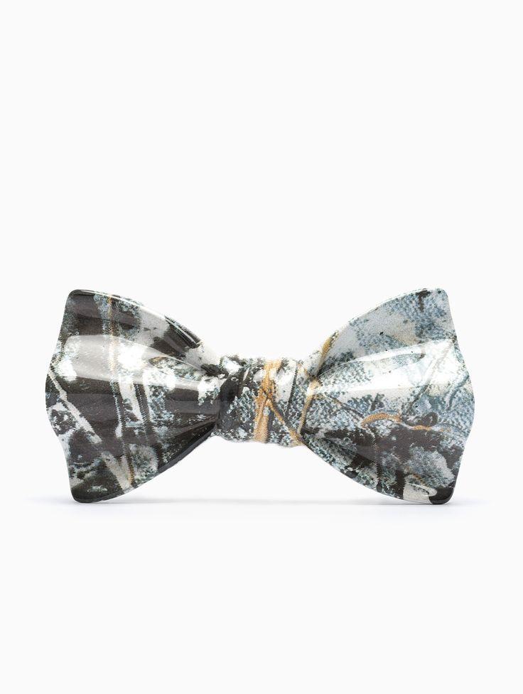 Cor Sine Labe Doli ceramic bow-tie in multicolor