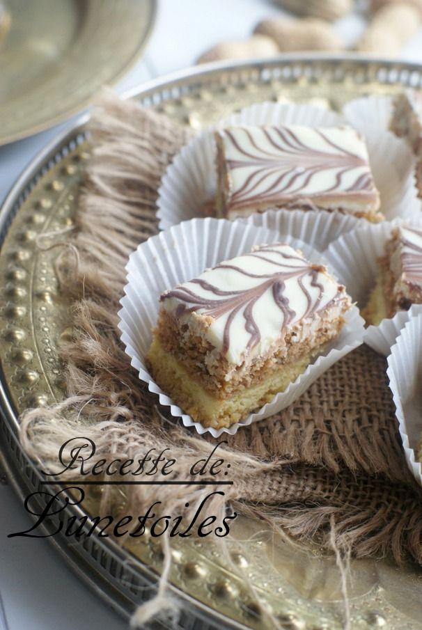 gâteau sable macaron aux cacahuètes 1