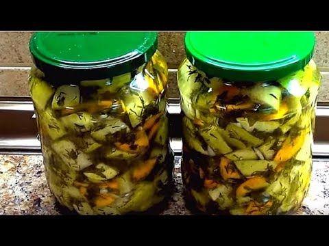 Суперские кабачки на зиму. Как грибы - очень вкусные и ароматные. - YouTube