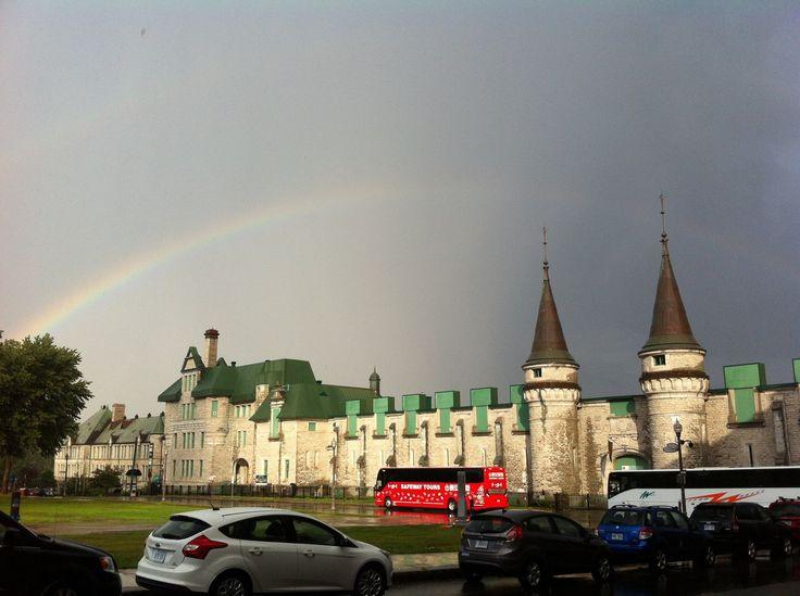 Hotel Chateau Laurier - Arc-en-ciel #Rainbow #Quebec