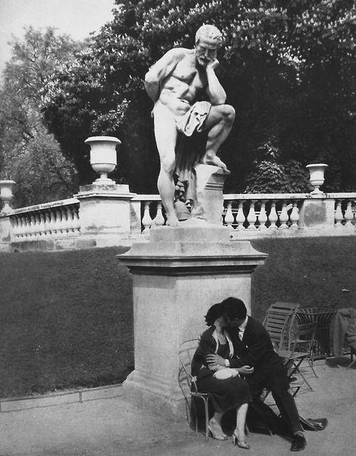 Jardin de Luxembourg 1950 Photo: René Maltête