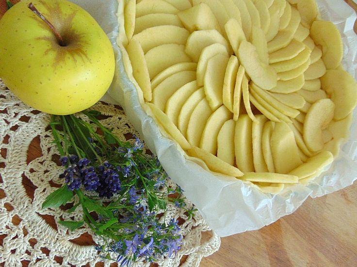 tarta jabłkowa przepis #CAKE #BAKING