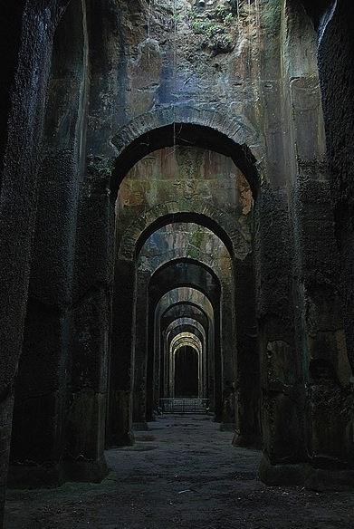 Piscina Mirabilis, Napoli, Italy Abandoned places, World