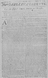 North Carolina Newspapers - State Library of North Carolina