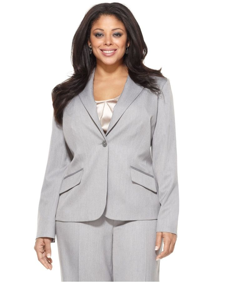 Plus size business casual work clothes