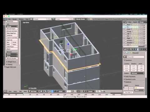 Blender 2.78a Archimesh Addon [Turkish] - YouTube