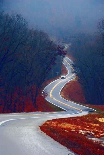 Road to Eureka Springs, AR, runs right past Hidden Valley