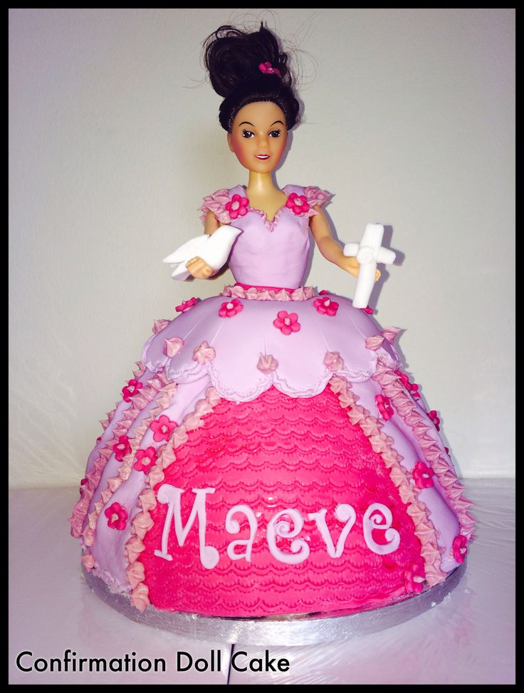 Confirmation doll/princess cake