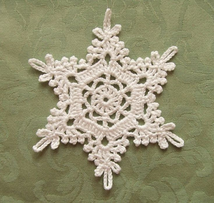 https://flic.kr/p/bd5mKv | Crochet Snowflake | Pattern: 四季のレースパターン100 Thread: Rich More - Suvin Gold Hook size: US 6~7 (1.75mm) ⌀ : 13.5 cm