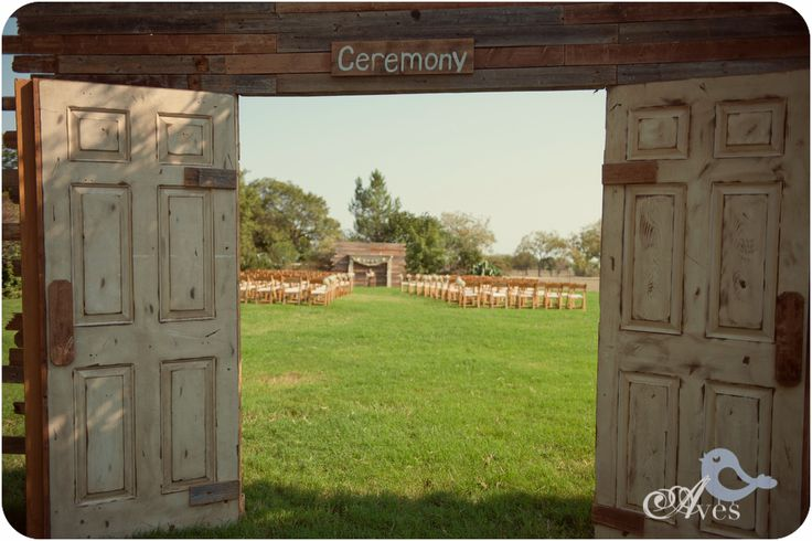 Ding Decor Ideas Outdoor Ceremony Custom Wooden Doors Etsy