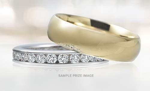 Ritani Sweepstakes Enter to win two stunning wedding rings