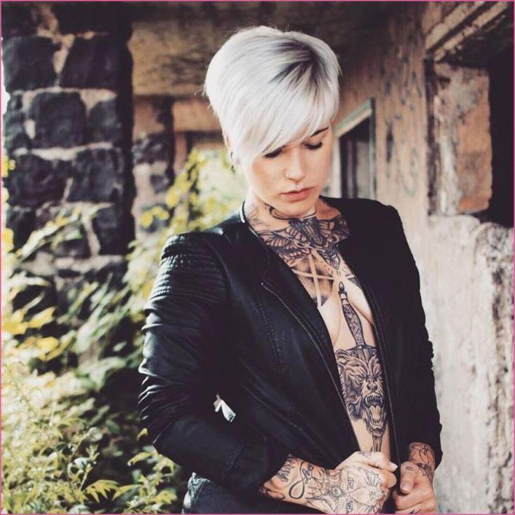 Graue Kurze Haare | spatesflorist.com | Short hair styles ...