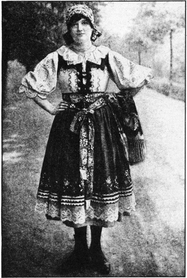 RICH FEMININE APPAREL OF CZECHOSLOVAKIA