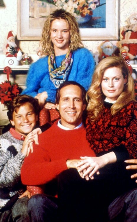Christmas Vacation is a 1989 Christmas comedy film directed by Jeremiah S. Chechik. It is the third installment in National Lampoon's Vacation series and was written by John Hughes, based on his short story in National Lampoon Magazine, Christmas '59. The film stars Chevy Chase, Beverly D'Angelo and Randy Quaid, with Juliette Lewis and Johnny Galecki as the Griswold children Audrey and Rusty, respectively. Christmas Vacation has often been labeled as a modern Christmas classic.