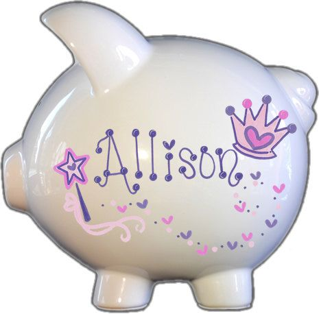 Hey, I found this really awesome Etsy listing at https://www.etsy.com/listing/157594830/hand-painted-ceramic-large-piggy-bank