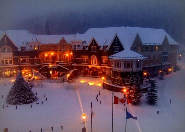 Christmas in Canada's Winter Wonderland, Banff, AB, Canada ^_^