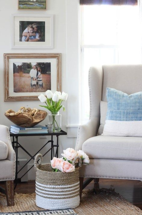 Wingback Chairs in the Living Room   Rooms FOR Rent Blog