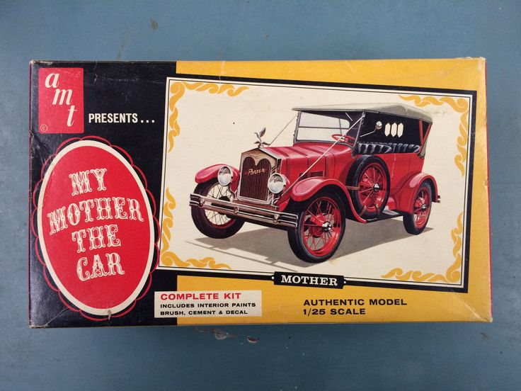 My mother the car model kit