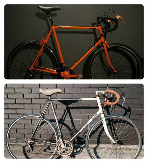 #new #giant  #custom by #rcbvelocustom #rcbdesign  #beforeandafter  #velo #velocustom #racebike #orange #cycling  #woodmanpic