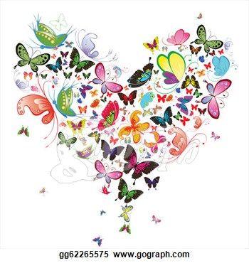 Butterfly Heart design~❥