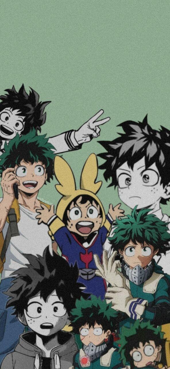 Bnha Lockscreen Izuku Midoriya In 2021 Anime Background Anime Backgrounds Wallpapers Anime Wallpaper Wallpaper iphone aesthetic deku