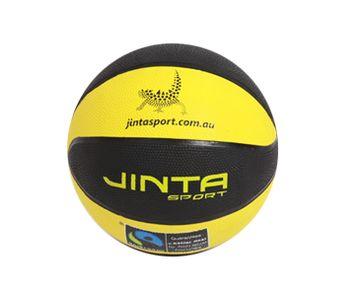 Basketball Size 6. 'These hardwearing basketballs are ideal for outdoor usage. Certified fairtrade, the purchase of these balls helps fund community develop projects in third world countries AND sports programs for Aboriginal children in Australia.' #basketball #fairtrade #ballsforgood