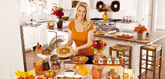 Sandra Lee Sweet Tablescapes Fall Halloween