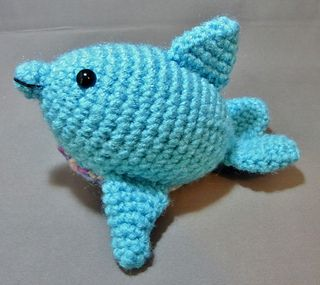 Add this fun little chubby dolphin to your ocean creature collection! Little Chu…