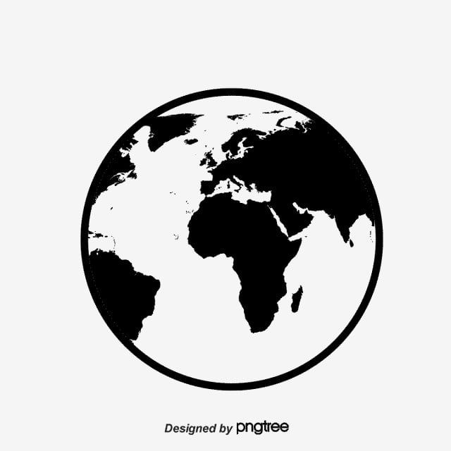 Earth Black Earth Simple Earth Black Black Vector Vector Earth Vector Material Vector Earth Globe World Planet Earth In 2021 Earth Tattoo Black Abstract Earth Pictures