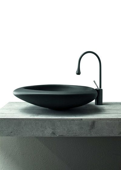 Sasso Cemak by Mastella Design | Wash basins