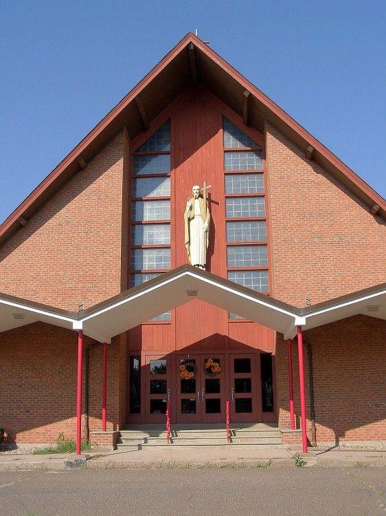 St. Phillip R.C. Church, East Windsor, CT  Donation Drop Off Box Location
