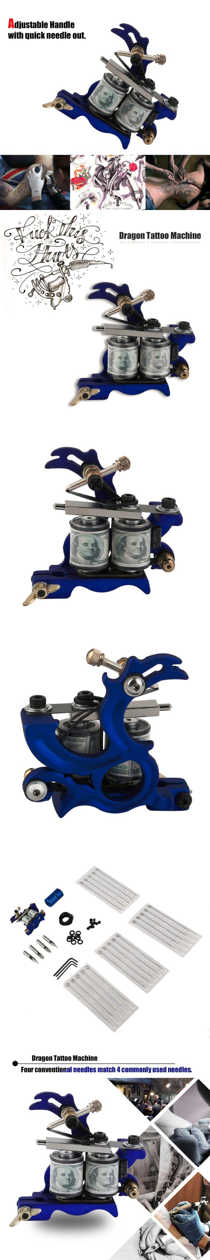 Primus Rotary Tattoo Machine Shader Liner Gun Tattoo Gun Made Cast Iron not easy get dirty Blue Machine frame top quality