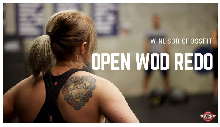 The CrossFit Open has been SO MUCH FUN!  If you haven't had your chance to redo an Open WOD, don't miss it!  Check out all the Open WOD Redo information on FB!