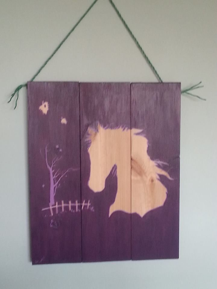 Up cycled wood
