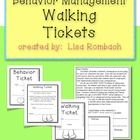 Need an alternative to taking recess time away as a behavior consequence?  I did!!  So, I created WALKING TICKETS as an alternative.  Now, when my ...