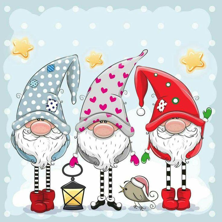 73 besten zwerge bilder auf pinterest wichtel weihnachtskarten und gnome - Clipart weihnachtswichtel ...