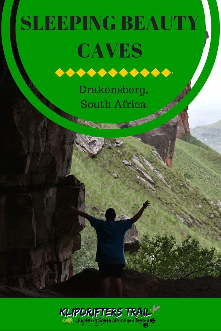 Sleeping Beauty Caves, Drakensberg  Overnight #hike in #Drakensberg to Sleeping Beauty caves in Kwazulu Natal, South Africa